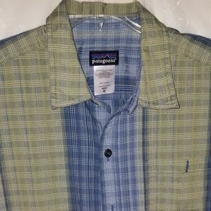 Patagonia Mens Button Down Short Sleeve Shirt